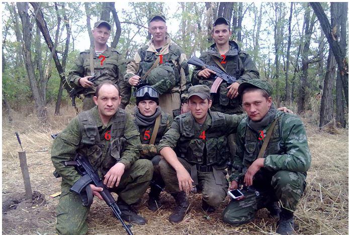 Uppgifter för identifiering av ryska marinsoldater